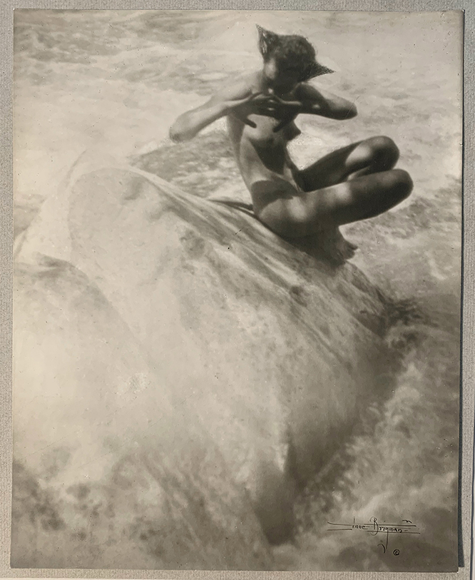Anne W. Brigman, The Water Nixie