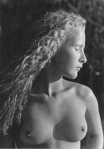 Danielle, Montalivet, France, 1989, silver gelatin print