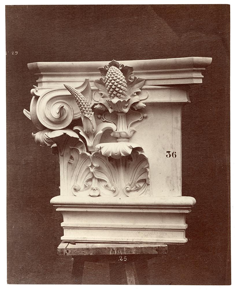 Le Nouvel Opera de Paris, Sculpture Ornementale
