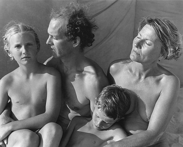 Famille deSaxce, Montalivet, France, 1989