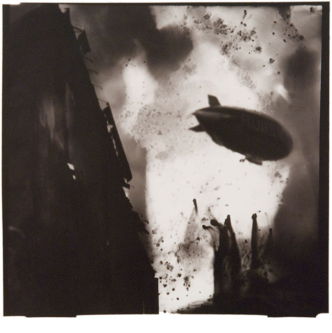 """West Side Highway, NYC, 1995, toned gelatin silver print, 9 x 9.25"""", edition 5/25"""