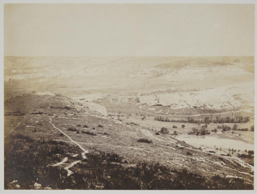 Roger Fenton, Valley of Inkermann, 1856