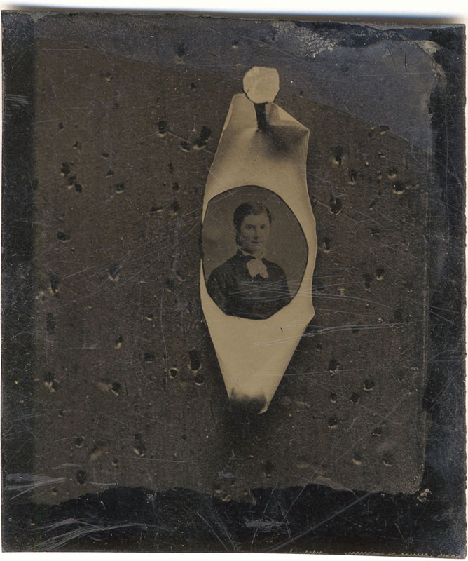 Nail and Portrait tintype