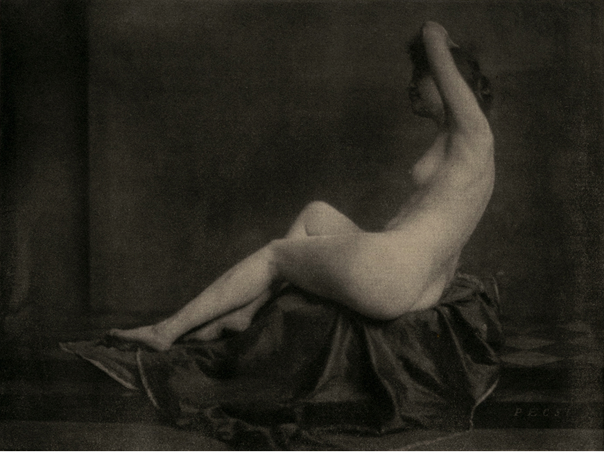 Jozef Pesci, Nude, 1922, hand-pulled photogravure,