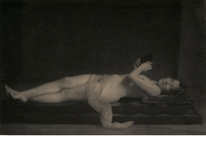 Jozef Pesci, Nude, 1922, hand-pulled photogravure