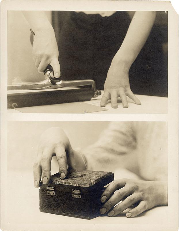 Charles Schenk, hand study, plate 51