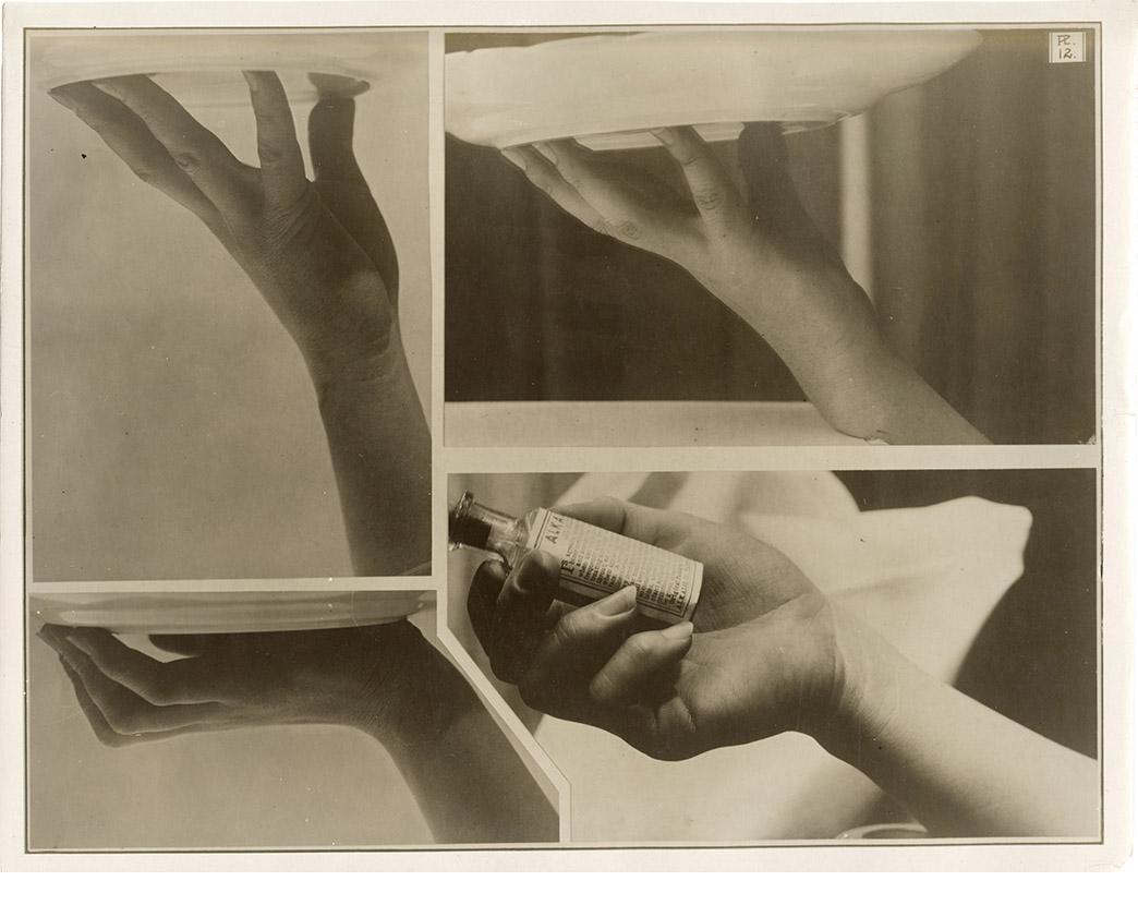 Charles Schenk, hand study, Plate 12