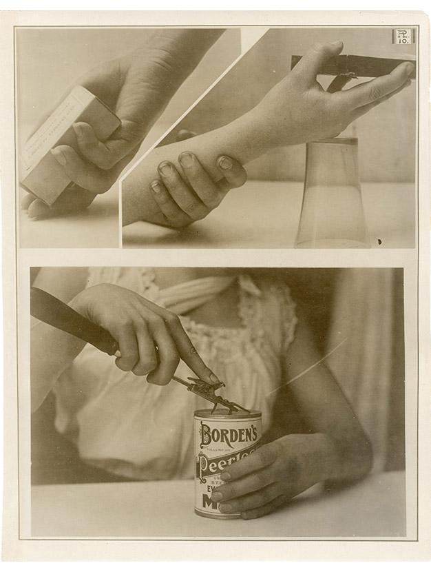Charles Schenk hand study, Plate 10