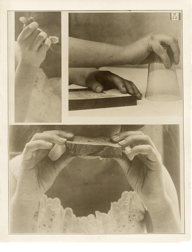Charles Schenk, hand study, plate 22