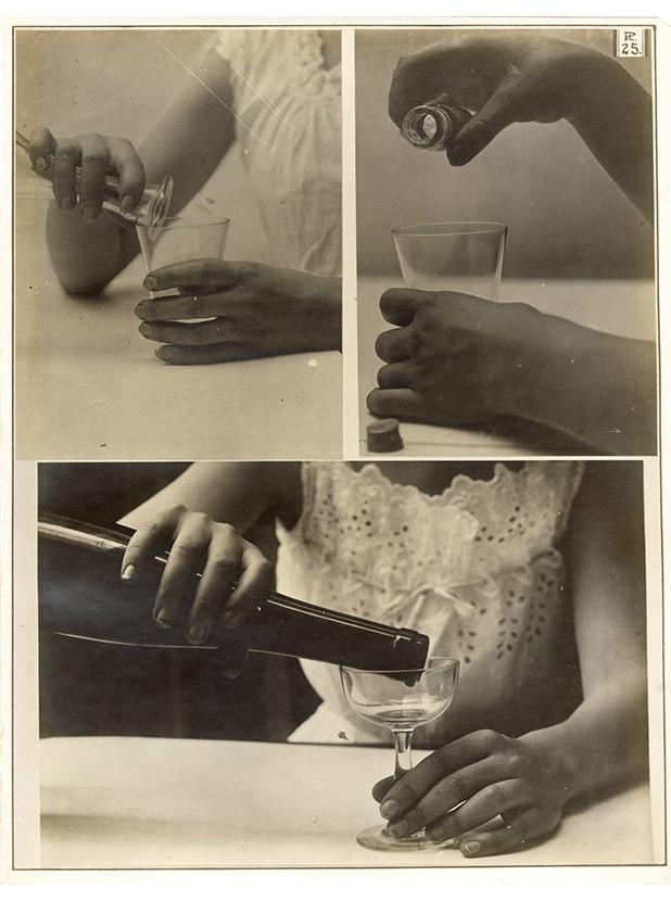 Charles Schenk, hand study, plate 25