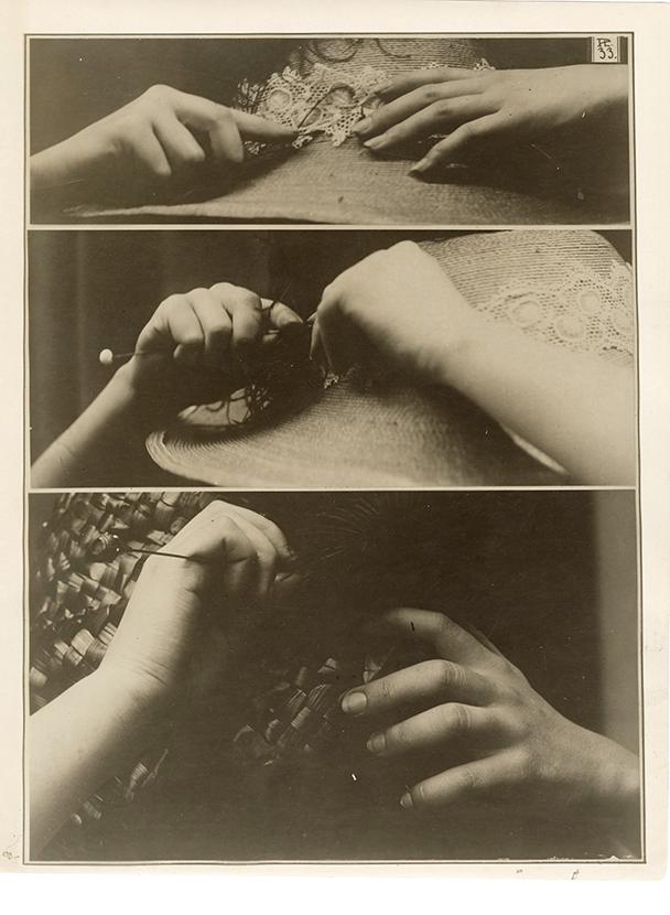 Charles Schenk, hand study, plate 33