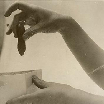 Charles Schenk, hand study