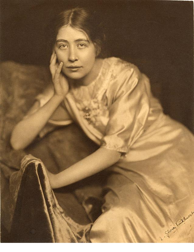 Sylvia Pankhurst portrait