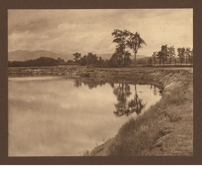 W.B. Post, landscape