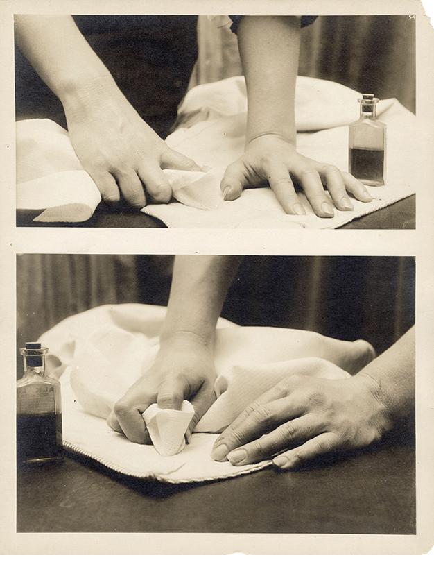 Charles Schenk, hand study, Plate 54