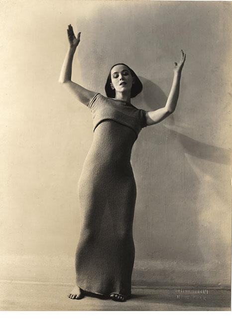 Soichi Sunami, Martha Graham, c.1928, gelatin silver print