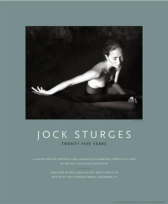 Jock Sturges-Twenty-Five Years poster